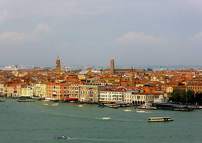 Venice Photograph - The Venice Lagoon by Bishopston Fine Art
