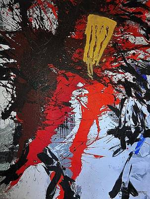 Nitsch Painting - The Victory by Cornelius Richter