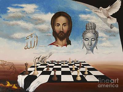 Most Popular Painting - The Victory by Tatjana Popovska