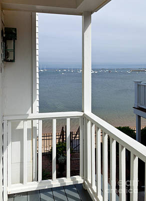 Sun Porches Photograph - The View From The Porch by Michelle Wiarda