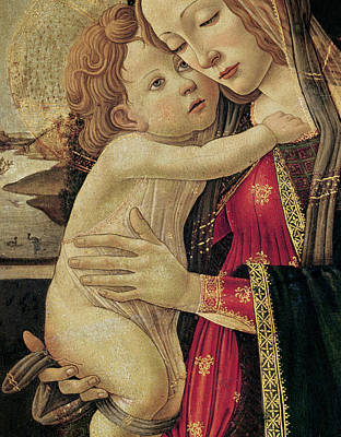 The Virgin And Child Print by Sandro Botticelli