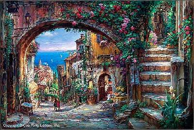 E 20 Painting - The Vision Beyond by Cao Yong