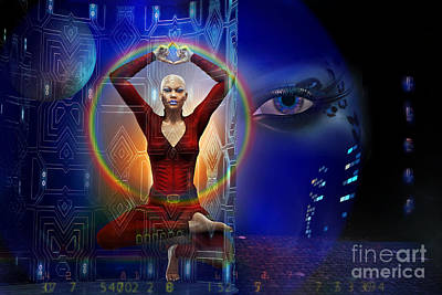 Discernment Digital Art - The Vision by Shadowlea Is