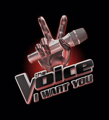 Shakira Digital Art - The Voice - Logo by Brand A