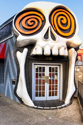 Dining Out Photograph - The Vortex In Eclectic Little Five Points by Mark E Tisdale