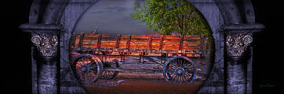 The Wagon Print by Gunter Nezhoda