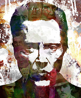 Street Art Digital Art - The Walken by Bobby Zeik
