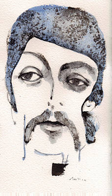 Paul Mccartney Mixed Media - The Walrus As Paul Mccartney by Mark M  Mellon