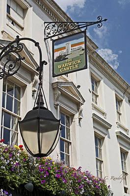 The Warwick Castle Pub Print by Cheri Randolph