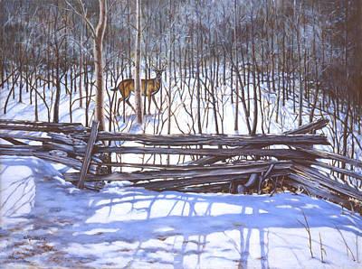 The Watcher In The Wood Original by Richard De Wolfe
