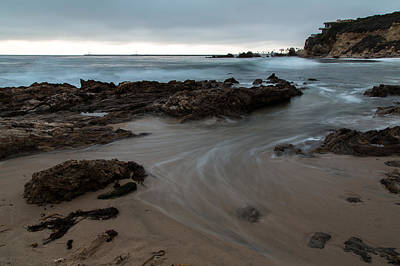 Waves Photograph - The Waters Of Corona Del Mar by John Daly
