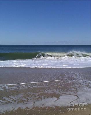 The Wave Print by Arlene Carmel