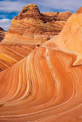 The Wave Coyote Buttes Arizona And Utah Print by Robert Ford