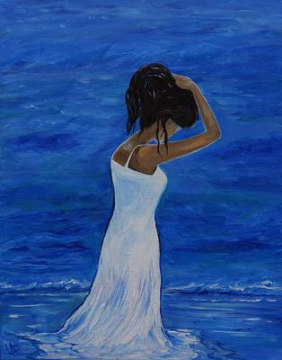 The Waves Of Beauty Original by Leslie Allen