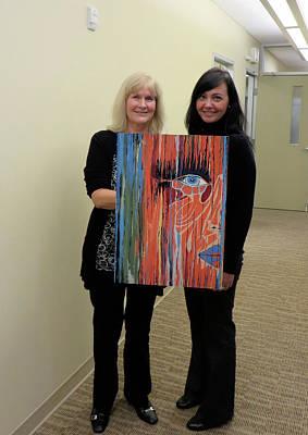 Abstract Art Mixed Media - The Way Eye See It by Kathleen Sartoris