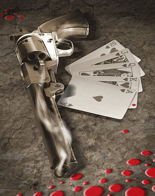 The Way Of The Gun 2 Print by Mike McGlothlen