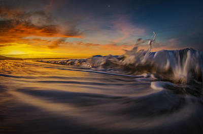 Surfing Photograph - The Way Of The Wave by Sean Foster