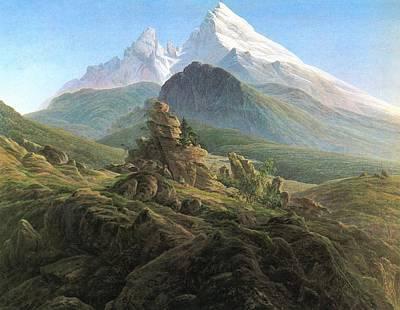 Caspar Painting - The Wazmann by Philip Ralley