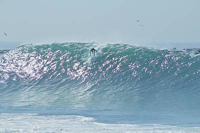 Kelly Slater Photograph - The Wedge Newport Beach by Richard Cheski