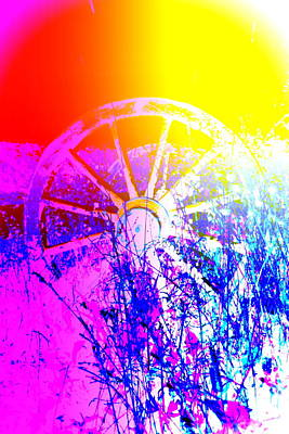 Life Before Now Photograph - I Have A Wheel Of Colors But It's Standing Still  by Hilde Widerberg