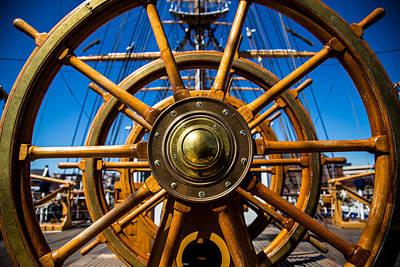 United States Coast Guard Photograph - The Wheel by Karol Livote