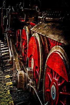 The Wheels - Never Ending Road Print by Alexander Senin
