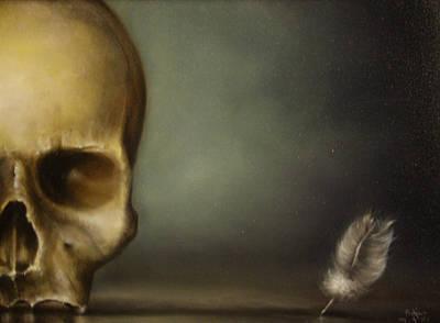 The White Feather Print by Simone Galimberti