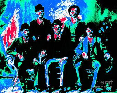 The Wild Bunch 20130212m135 Print by Wingsdomain Art and Photography