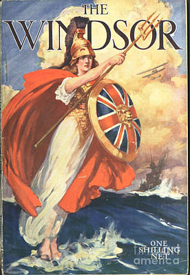 Nineteen-tens Drawing - The Windsor 1919 1910s Uk First Issue by The Advertising Archives