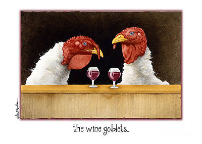 Turkey Painting - The Wine Goblets... by Will Bullas