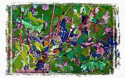 The Wine Maker II Print by Ken Evans
