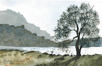 The Wishing Tree Print by Janice Sobien
