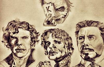 Tyrion Lannister Drawing - The Witty Repartees by Shokeen Kalyan