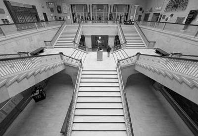 Chicago Photograph - The Woman's Board Grand Staircase 1 by Kevin Eatinger