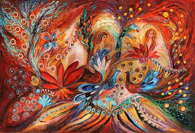 Wholesale Painting - The Women Of Tanakh Hava II by Elena Kotliarker
