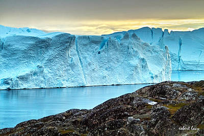 Photograph - The Wonder Of Greenland by Robert Lacy