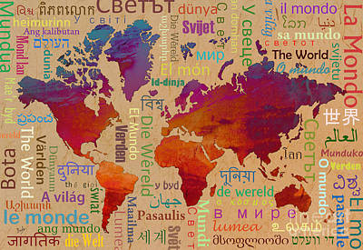 The World Print by Bedros Awak