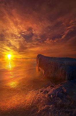 Ice-t Photograph - The World That Time Forgot by Phil Koch