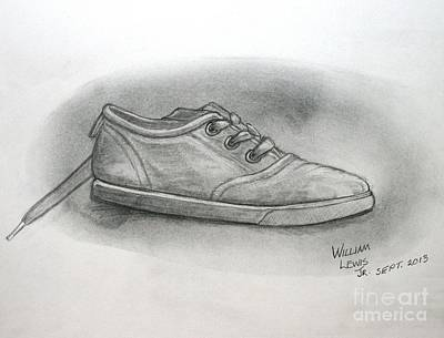 The Worn Sneaker Print by William Lewis