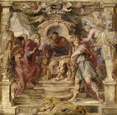 Achilles Painting - The Wrath Of Achilles by Peter Paul Rubens