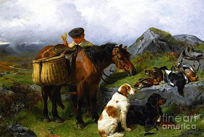 The Young Gamekeeper Print by Celestial Images