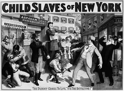 Theater Child Slaves, C1903 Print by Granger