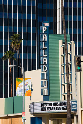 Stage Theater Photograph - Theater In A City, Hollywood Palladium by Panoramic Images