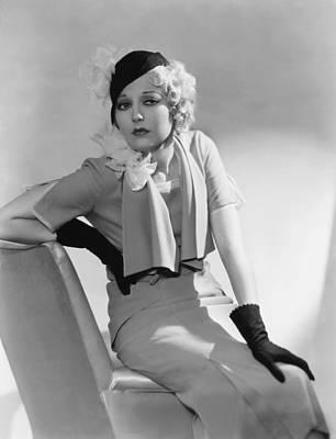 Thelma Photograph - Thelma Todd, 1932 by Everett
