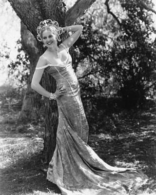 Thelma Photograph - Thelma Todd, Ca. 1934 by Everett