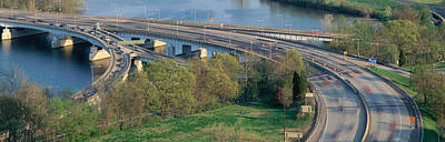 Washington D.c. Photograph - Theodore Roosevelt Bridge, Washington by Panoramic Images