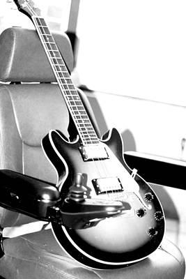 Therapeutic Guitar 3 Print by Sandra Pena de Ortiz