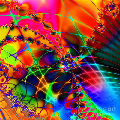 Algorithmic Digital Art - There Are Places I Remember 20130510 Square V1 by Wingsdomain Art and Photography