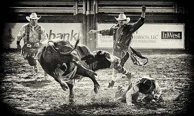 Toro Photograph - There Have To Be Clowns by Caitlyn  Grasso