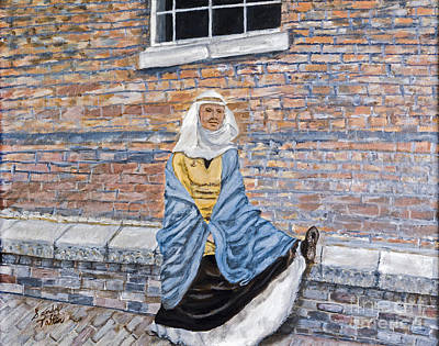 Brick Building Mixed Media - There Is A Hole In My Shoe By Sandy Taffin by Sheldon Kralstein